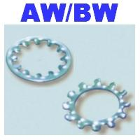 Toothed Internal, External Lock Washers